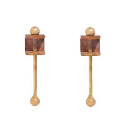 Bar Box Earrings