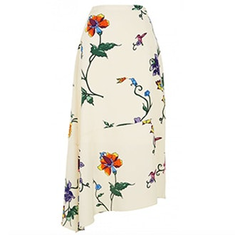 Bella Floral Aymmestrical Skirt