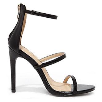 Black Dress Sandals