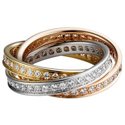 Trinity De Cartier Diamond Ring