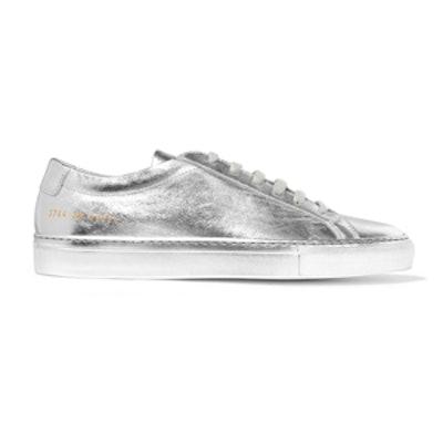 Original Achilles Metallic Leather Sneakers