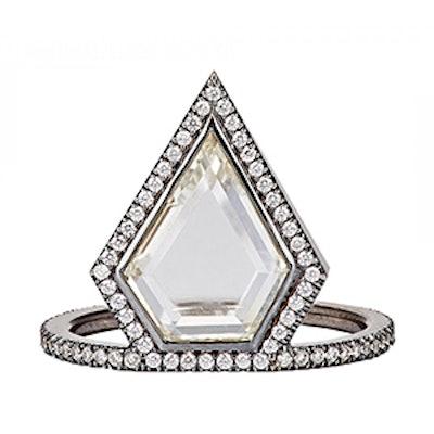 White Gold Diamond Kent Ring