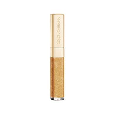 Sheer Shine Gold Lip Gloss
