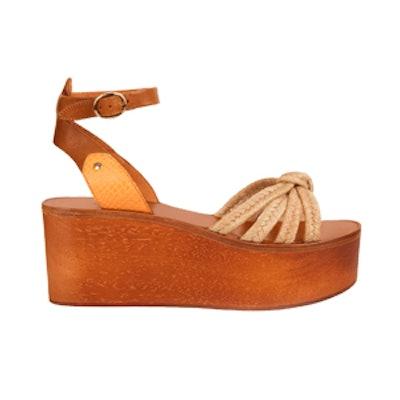 Zia Wooden Flatform Sandals