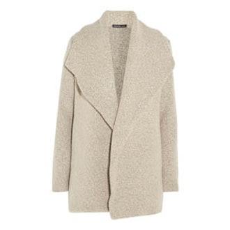 Wool Blend Bouclé Cardigan