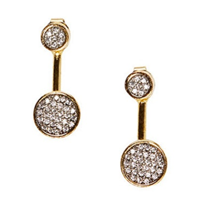 Kelly Front-To-Back Earrings