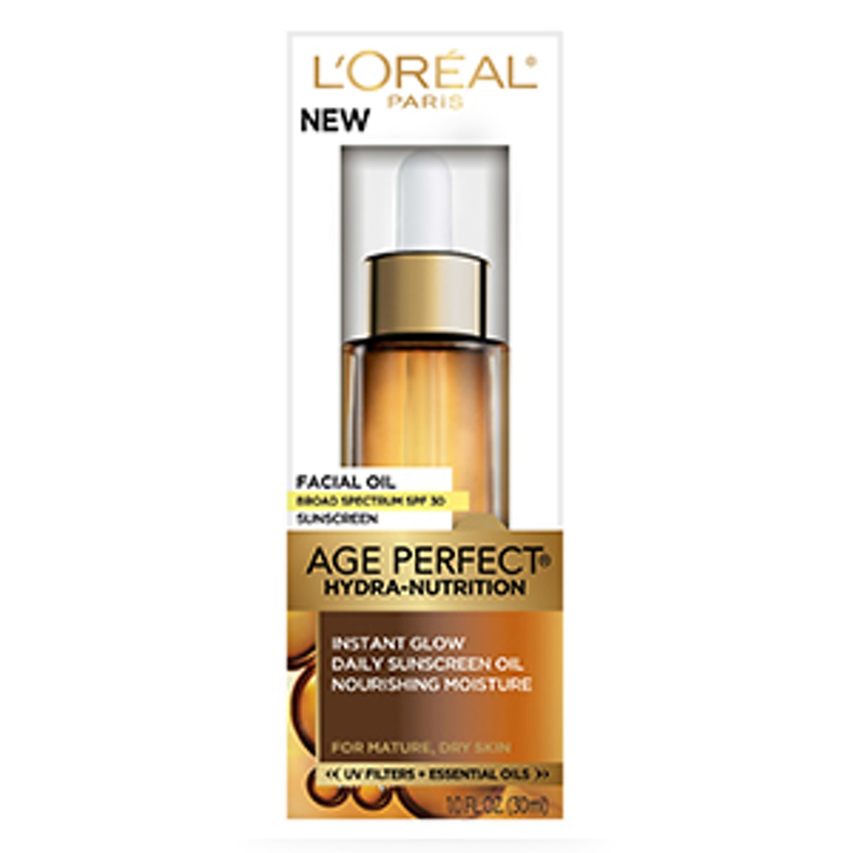Age Perfect Hydra-Nutrition Facial Oil with SPF 30