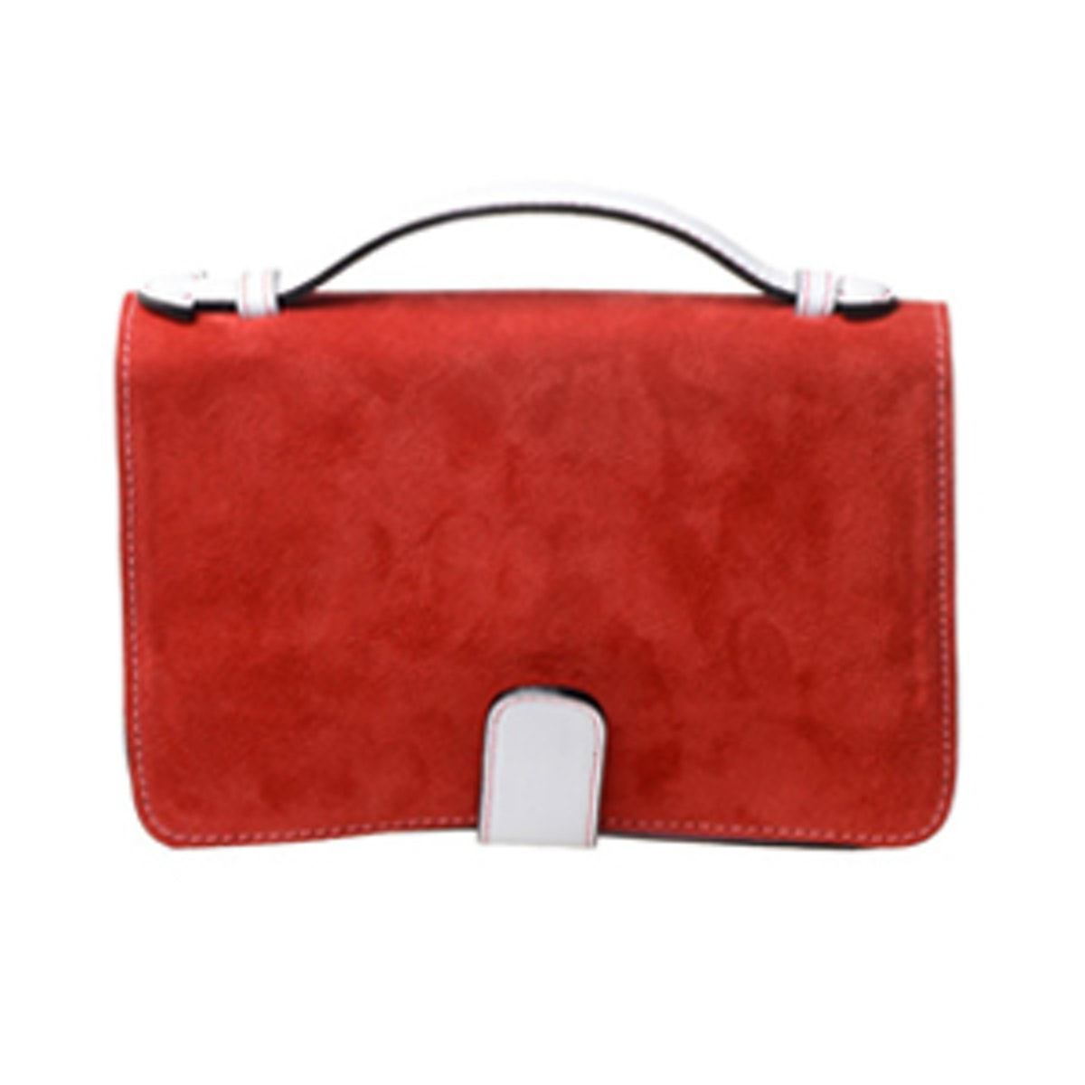 Leather Clutch With Removable Shoulder Strap