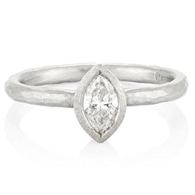 Platinum & Marquise Diamond Ring