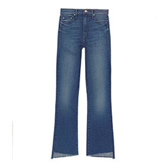 Insider Crop Step Fray Jeans
