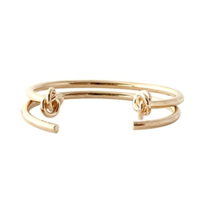 Double Knot Cuff Duo