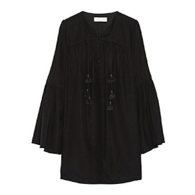 Helen Silk Crepe De Chine Mini Dress