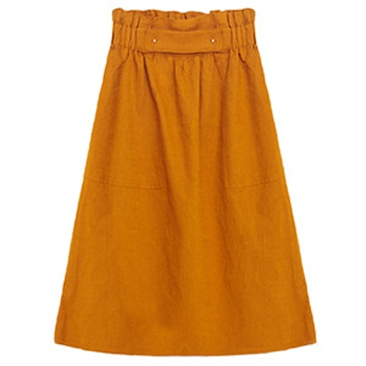 Skirt With Gold-Toned Details