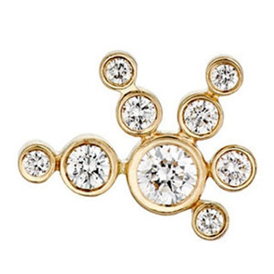 Flacon De Neige Stud Earring