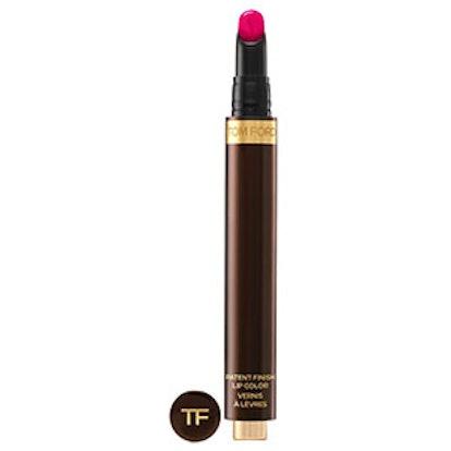 Patent Finish Lip Color in Erotic
