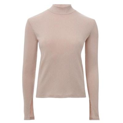 Wide Rib Long Sleeve T-Shirt