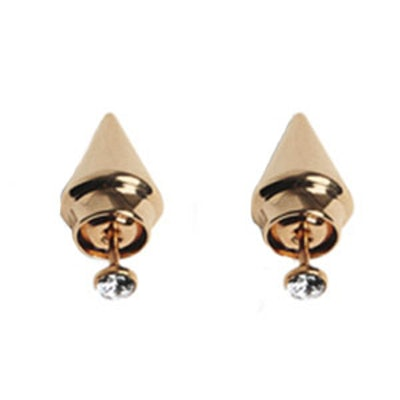 Mini Titan Solitaire Earrings