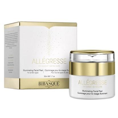 Bibasque Allegresse 24K Gold Illuminating Facial Peel