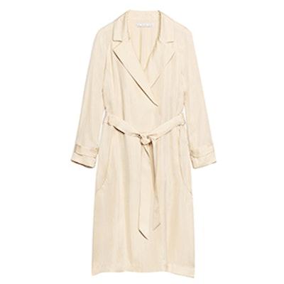 Lightweight Satin Coat