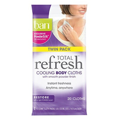 Total Refresh Cooling Restore Body Cloths