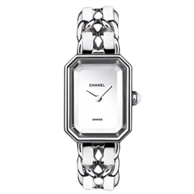 Premiere Leather and Mother of Pearl Watch