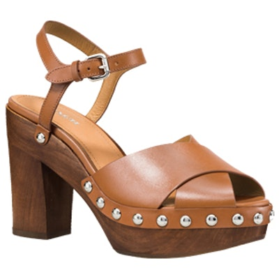 Viola Heel in Saddle