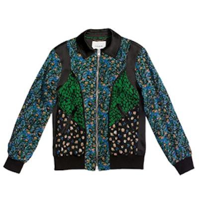 Framed Varsity Jacket