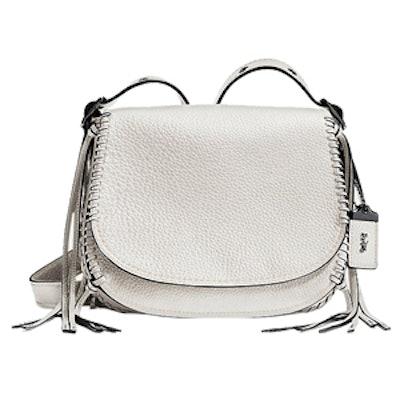 Whiplash Saddle Bag in Chalk