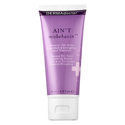 Ain't Misbehavin' Intensive 10% Sulfur Acne Mask