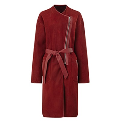 Reversible Merino Coat