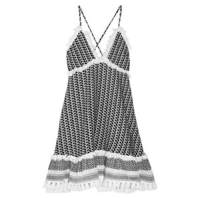 Tasseled Gauze Dress