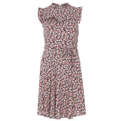 Raspberry Frill Dress