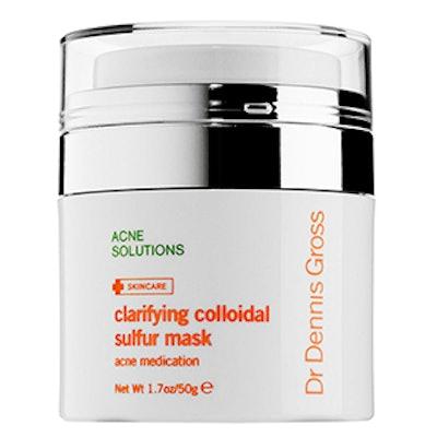 Clarifying Colloidal Sulfur Mask