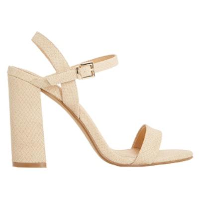 Maylie Block Heel Sandal