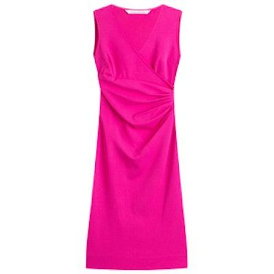 Dress With Gathered Waist