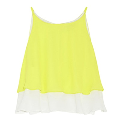 Lila Cropped Layered Top