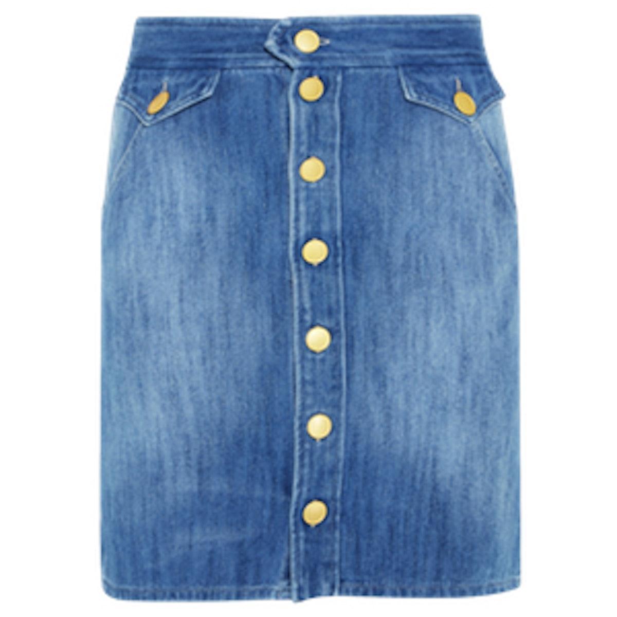 Odelle Denim Mini Skirt