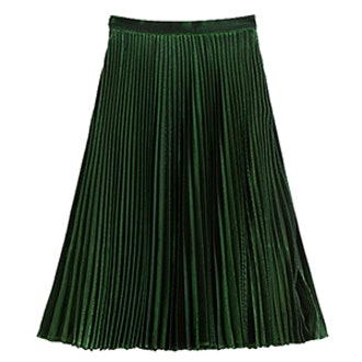 Shimmer and Shine Pleated Skirt