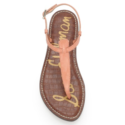 Gigi Thong Sandal In Papaya Punch