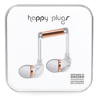 In-Ear Carrara Marble Headphones