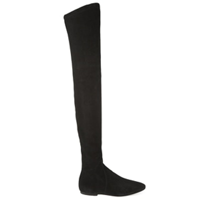 Brenna Suede Over-The-Knee Boot