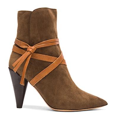 Nerys Velvet Boots