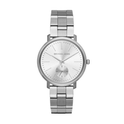 Jaryn Silver-Tone Watch