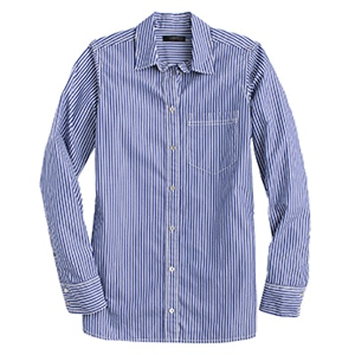 Boy Shirt in Bold Stripe