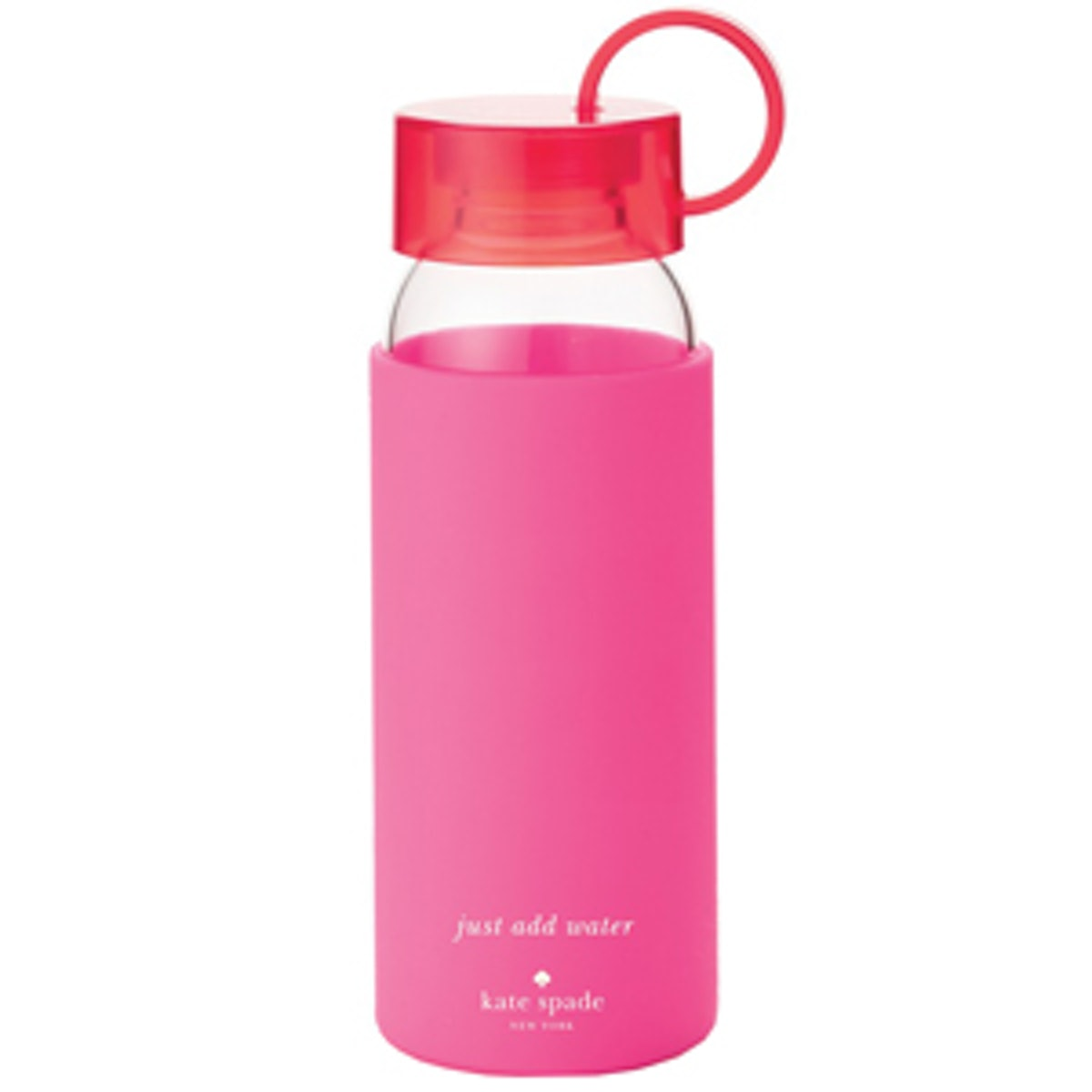 Glass & Silicone Water Bottle