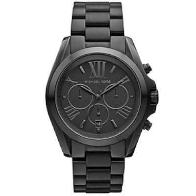 Bradshaw Black Ion-Plated Chronograph Watch
