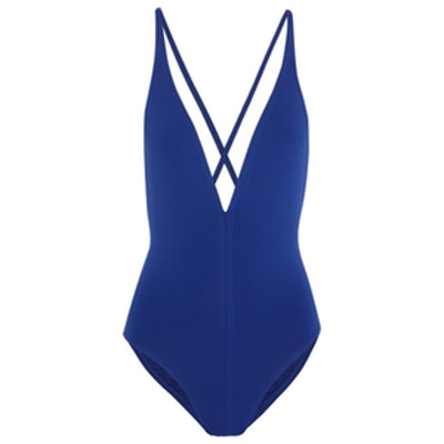 Cutout Plunge Swimsuit