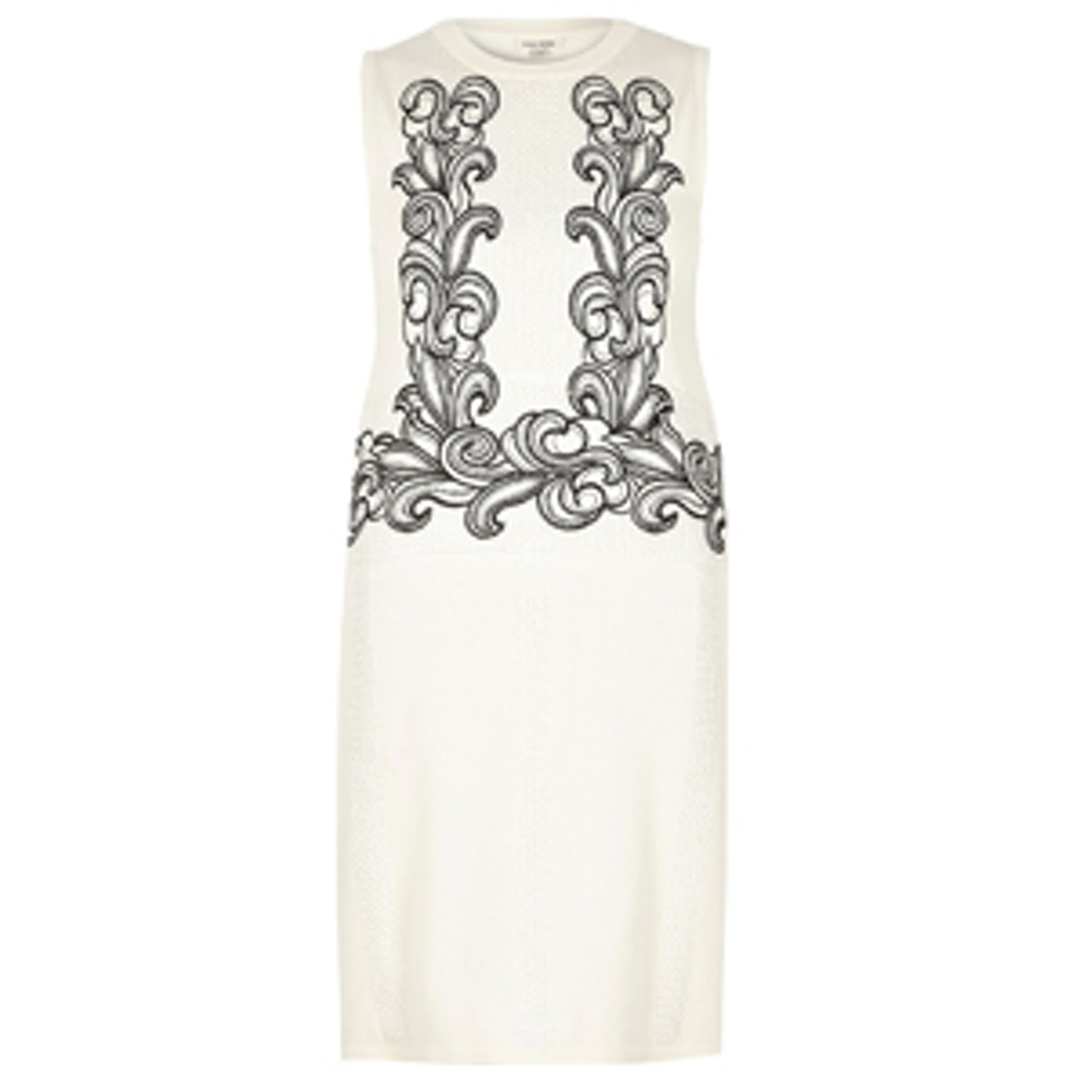 Knitted Embroidered Dress