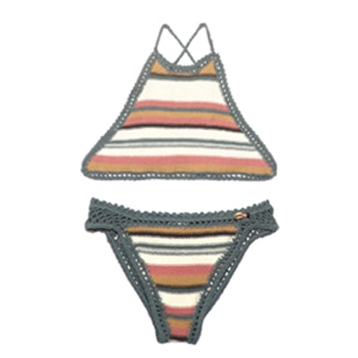 Dhari Halterneck Crochet Bikini