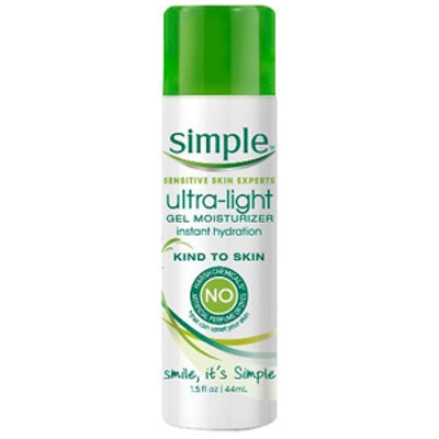Simple Ultra Light Gel Moisturizer